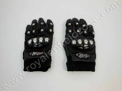 AXE GLOVES WITH CHROME KNUCKLES