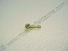 TAPPED PLATE WING NUT IN BRASS