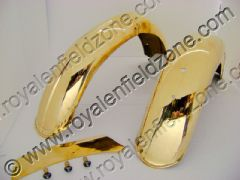 62 MODEL MUDGUARDS IN BRASS