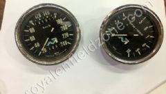 ORIGINAL SMITHS SPEEDO 0-240 WITH R.P.M METRE