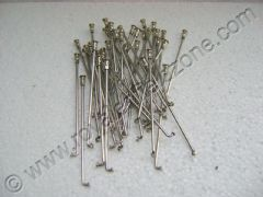 STAINLESS STEEL SPOKES WITH BRASS NIPPLES(NON RUSTABLE)