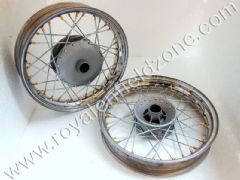 16 INCHES WHEEL RIM SET WITH BRASS NIPPLES