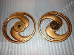 GOLDEN ALLOYS IN 2 SPOKE