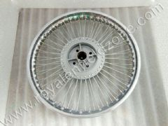 STRAIGHT SPOKE WHEEL RIM WITH 72 SPOKES
