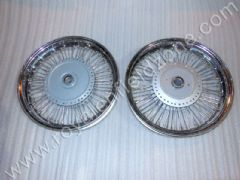 80 SPOKES FRONT AND REAR 16 INCHES WHEEL RIM SET
