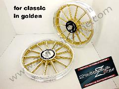 13 SPOKE GOLDEN FOR CLASSIC/ELECTRA/STD /T.B