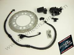 FRONT WHEEL DOUBLE DISC CONVERSION KIT