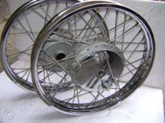 WHEEL RIM ASSY SPOKES TYPE