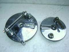 FRONT BREAK SHOE PLATE ASSY 500 & 350cc