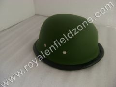 HALF HELMET IN MATT GREEN