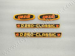 YEZDI TANK AND TOOL BOX DECALS